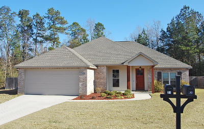 Hattiesburg Single Family Home For Sale: 27 Chapel Court