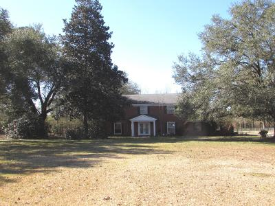 Columbia Single Family Home For Sale: 164 Columbia Purvis Rd.