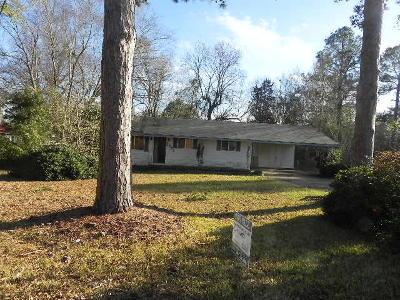 Hattiesburg Single Family Home For Sale: 2902 Jamestown Rd.