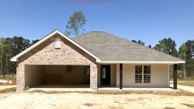 Purvis Single Family Home For Sale: 102 Lost Orchard