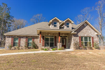 Petal, Purvis Single Family Home For Sale: 10 Carriage Parke Dr.