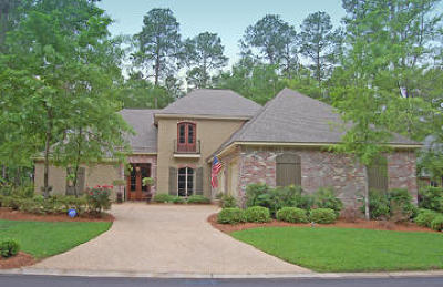Single Family Home For Sale: 99 Bienville Trace