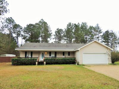 Purvis Single Family Home For Sale: 41 McCarter Cir.