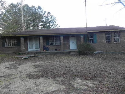 Jefferson Davis County Single Family Home For Sale: 195 Graves Keyes Rd.