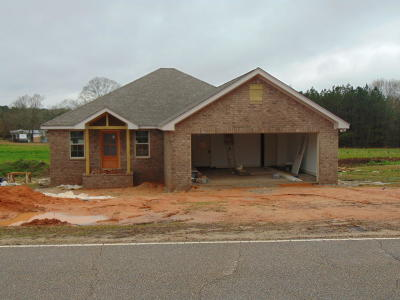 Sumrall Single Family Home For Sale: 691 Hickory Grove Rd
