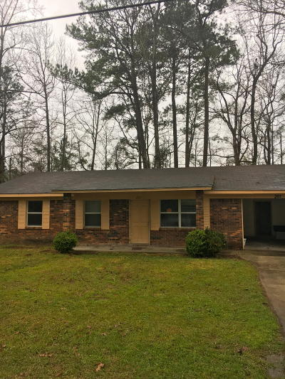 Hattiesburg MS Single Family Home For Sale: $69,500