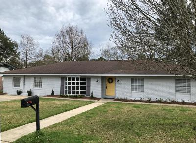 Hattiesburg MS Single Family Home For Sale: $195,000