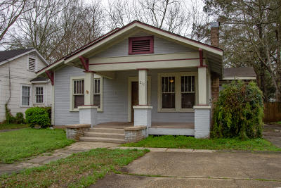 Hattiesburg Single Family Home For Sale: 211 S 14th Ave.