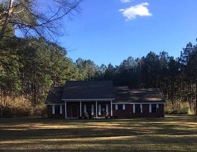 Hattiesburg Single Family Home For Sale: 258 J C Bryant Rd.