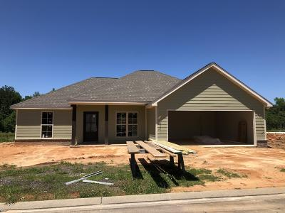 Hattiesburg Single Family Home For Sale: 6 Cosmos