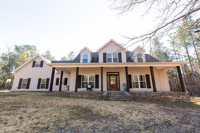 Hattiesburg Single Family Home For Sale: 267 J B Horne Rd.