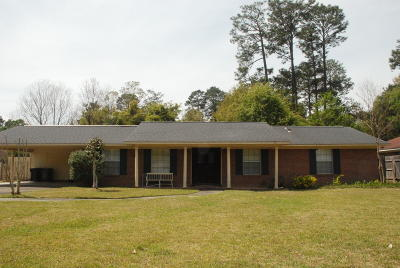 Hattiesburg Single Family Home For Sale: 1211 Marie St.