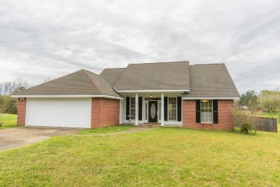 Purvis Single Family Home For Sale: 15 Meadow Ridge