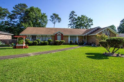 Hattiesburg Single Family Home For Sale: 3205 Rosewood