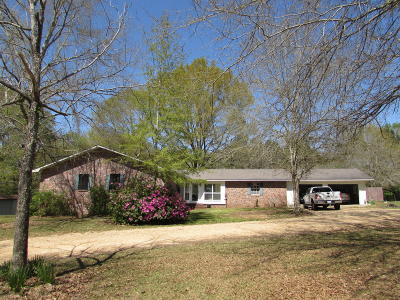 Columbia Single Family Home For Sale: 467 Columbia Purvis Rd.