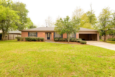 Hattiesburg Single Family Home For Sale: 205 Donwood Pl