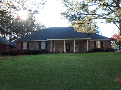 Hattiesburg Single Family Home For Sale: 62 Robert E Lee Rd.