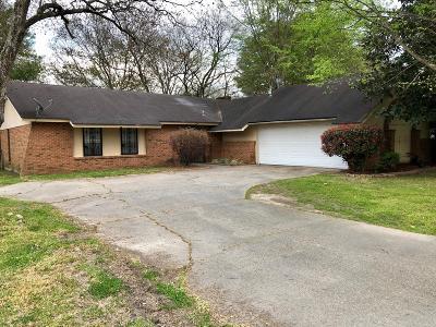 Hattiesburg Single Family Home For Sale: 104 E E Lakewood Dr.