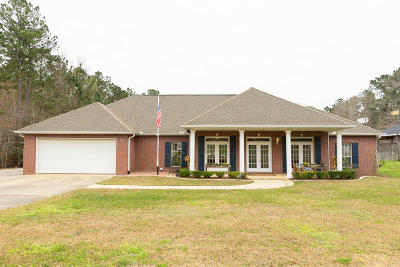 Hattiesburg Single Family Home For Sale: 52 Stonegate