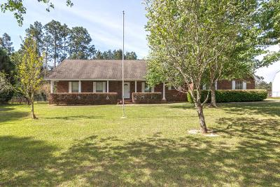 Purvis, Sumrall Single Family Home For Sale: 378 Beaver Lake Rd.