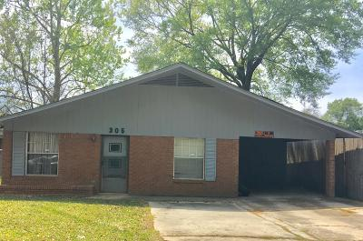 Hattiesburg Single Family Home For Sale: 305 E Florence St.