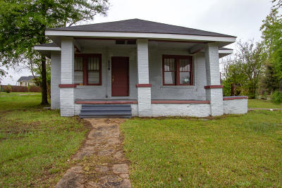 Hattiesburg Single Family Home For Sale: 114 N 23rd Ave.