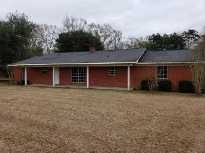 Taylorsville Single Family Home For Sale: 7700 Hwy 84 W