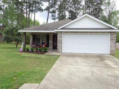 Sumrall Single Family Home For Sale: 119 Hemingway Dr.