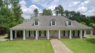 Hattiesburg Single Family Home For Sale: 107 Bedford Rd.