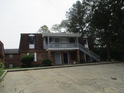 Hattiesburg Multi Family Home For Sale: 3820 Eagle Dr.
