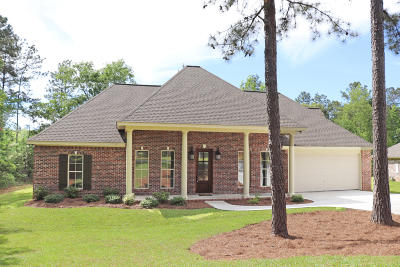 Hattiesburg Single Family Home For Sale: 21 Waverly Cir.