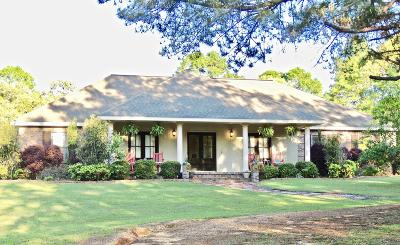 Purvis, Sumrall Single Family Home For Sale: 104 Peterson Rd.