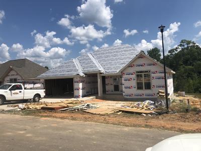 Hattiesburg Single Family Home For Sale: Lot 63 Coastal Oak