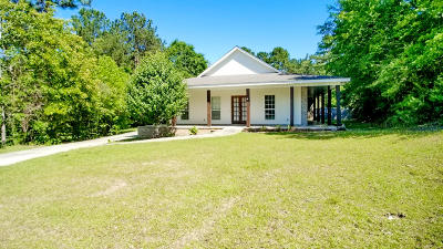 Sumrall Single Family Home For Sale: 45 Katherine Ave.