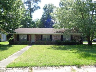Hattiesburg MS Single Family Home For Sale: $107,000