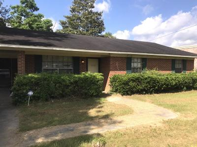 Hattiesburg Single Family Home For Sale: 5121 Lincoln Rd