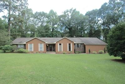 Sumrall Single Family Home For Sale: 1625 Highway 42
