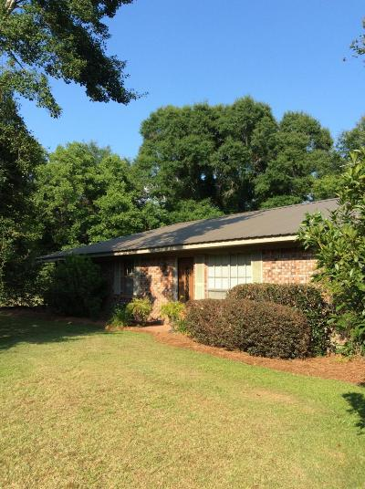 Purvis Single Family Home For Sale: 471 Purvis To Baxterville Rd.