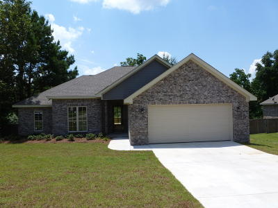 Hattiesburg Single Family Home For Sale: 17 Summerbrook