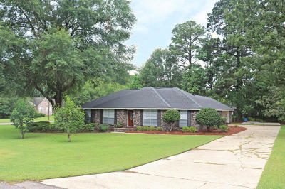 Hattiesburg MS Single Family Home For Sale: $179,500