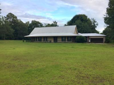 Hattiesburg Single Family Home For Sale: 4 Calvin Headley Rd.