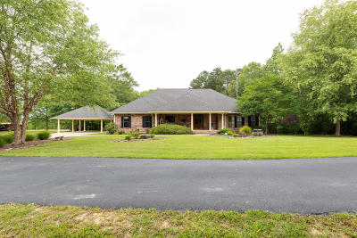 Sumrall Single Family Home For Sale: 3729 Rocky Branch Rd.