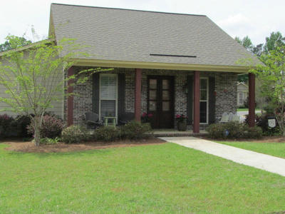 Hattiesburg MS Single Family Home For Sale: $162,900