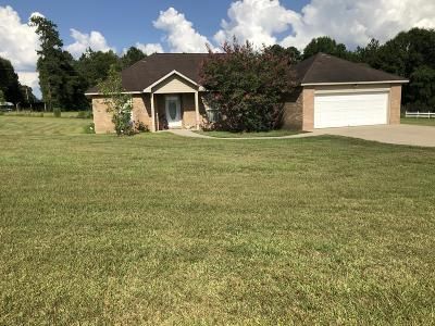 Columbia Single Family Home For Sale: 164 Robert Baggett