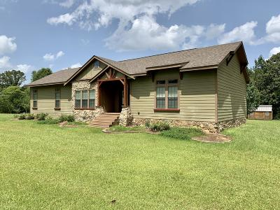 Seminary, Sumrall Single Family Home For Sale: 40 Family Rd.