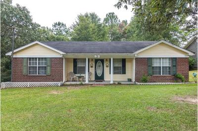 Purvis Single Family Home For Sale: 53 Pine Crest Rd.