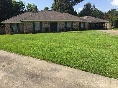 Hattiesburg Single Family Home For Sale: 107 Stover Cir.
