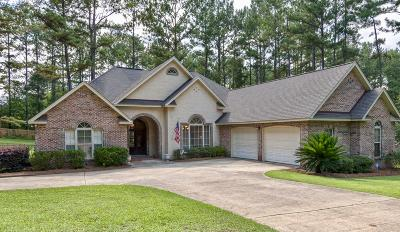 Hattiesburg Single Family Home For Sale: 162 Cambrooke