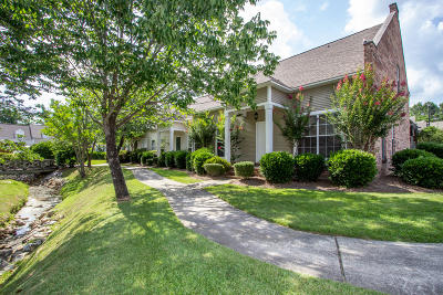 Hattiesburg Condo/Townhouse For Sale: 8 Gardenview