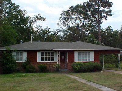 Hattiesburg MS Single Family Home For Sale: $69,900